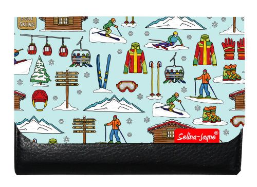 Selina-Jayne Skiing Limited Edition Designer Small Purse